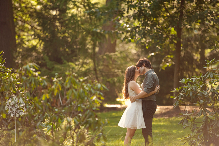 Sooooo When I Went Up In July To Shoot A Wedding We Decided That Longwood Gardens Would Be An Amazing Place For Their Engagement Session