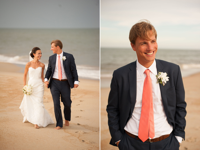 Beach Wedding Photography in Outerbanks North Carolina