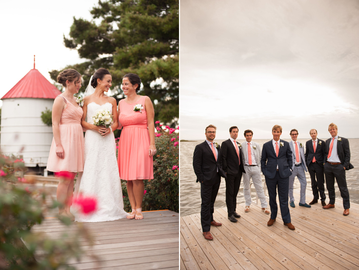 Bridal Party Pictures from the Sanderling Resort Outerbanks North Carolina