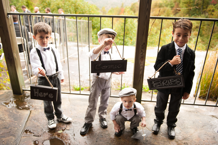 Ringbearers in Bow Ties