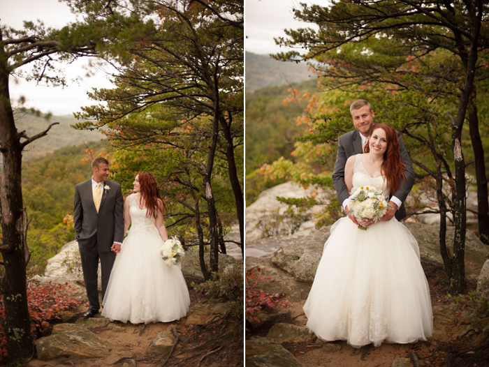 Wedding Images From Bee Rock Ridge Tennessee
