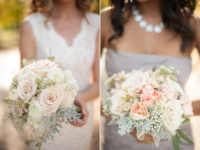 Pastel bouquets at Phoenixville Foundry