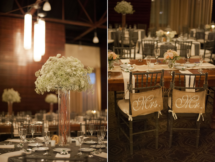 Baby's Breath Floral Arrangement at Phoenixville Foundry