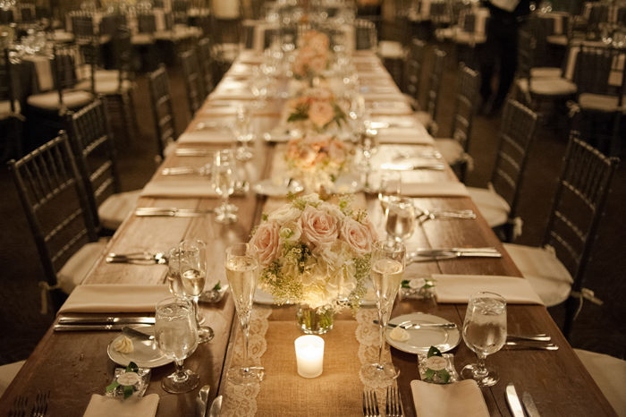 Farm Table Reception at Phoenixville Foundry