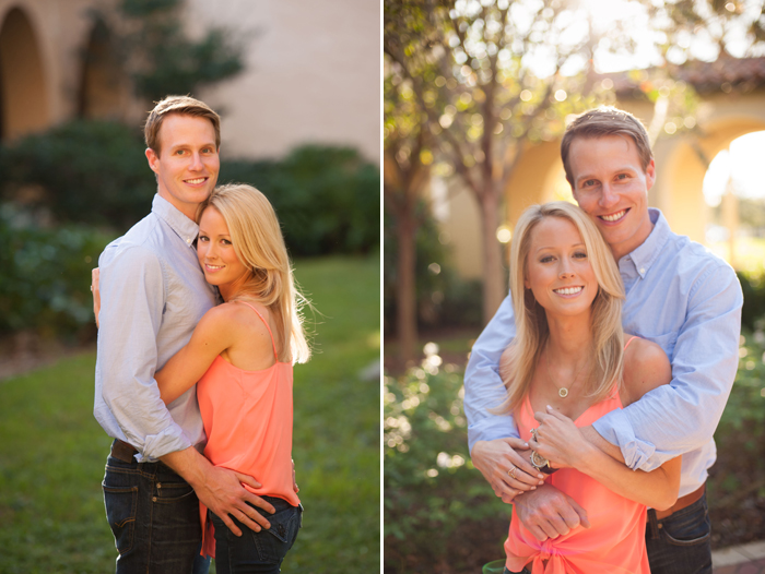 Cute Engagement Session Outfits at Rollins College