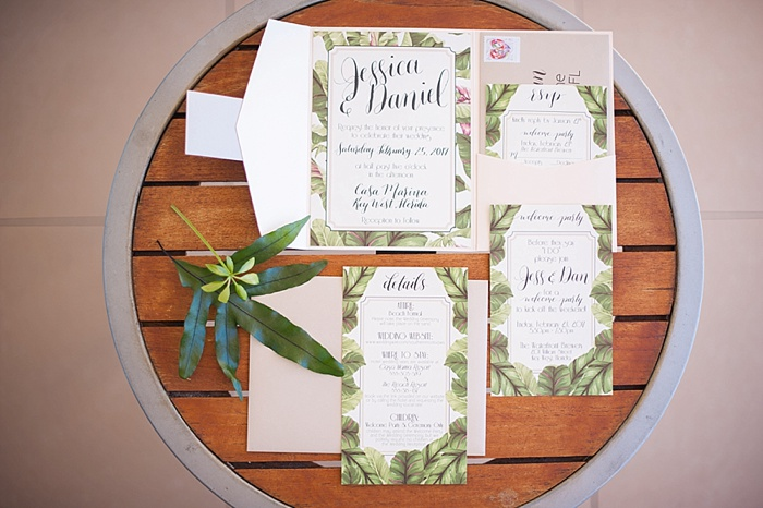 Tropical Invitations created by Alchemy Hour Designs