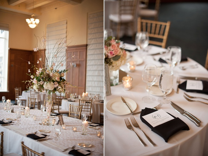 Navy and blush tones are a great color palette for a spring wedding in Tampa Florida