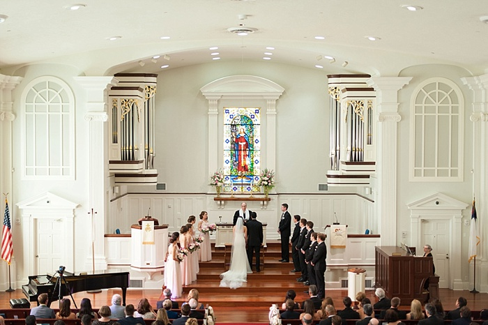 Beautiful Tampa wedding held at Palma Ceia Presbyterian Church