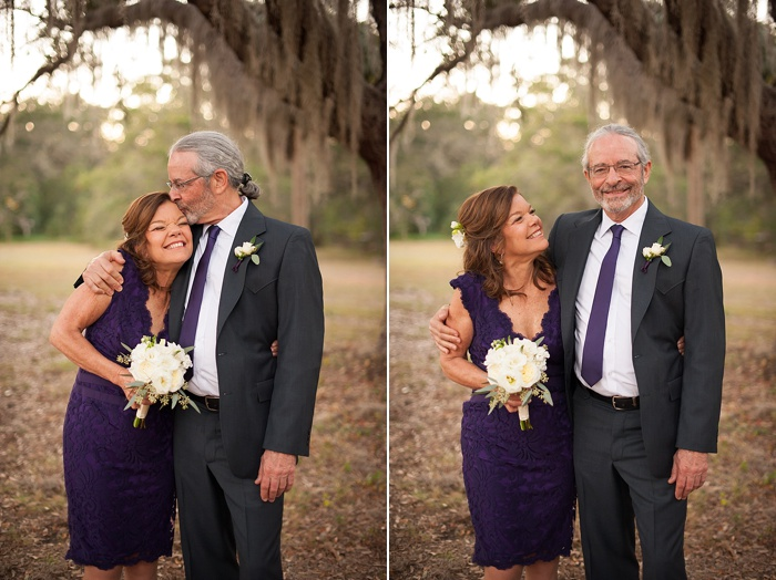 Parents of the bride still together after 40 years