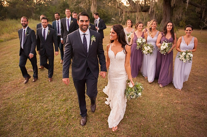 Dunedin Wedding Photographer captures bridal party on private estate in Florida